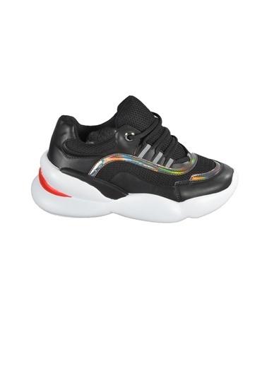 Walkway B-800 Platin Unisex Spor Ayakkabı Siyah